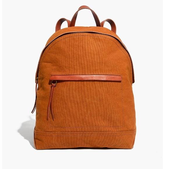 Madewell Handbags - Madewell Charleston Backpack in Acorn 🌰